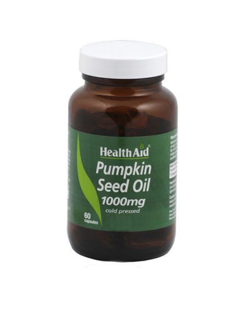 Aceite de Semilla de Calabaza Health Aid - 60 cápsulas