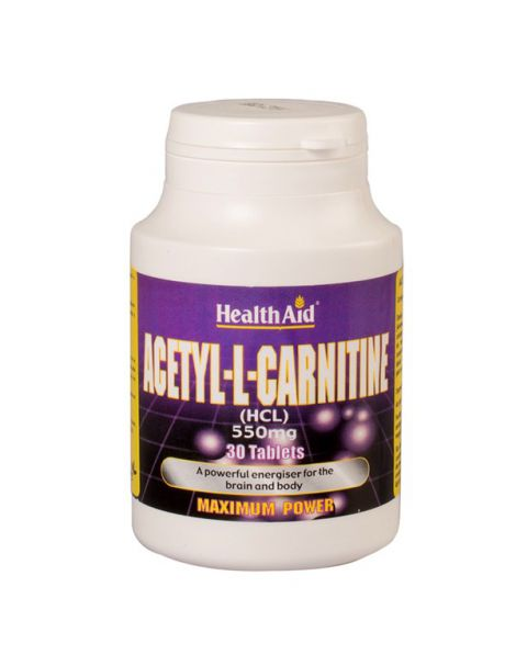 Acetyl-L-Carnitine Health Aid - 30 comprimidos