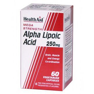 Ácido Alphalipoico Health Aid - 60 cápsulas