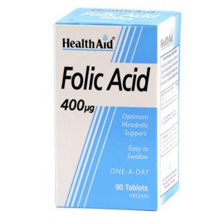 Ácido Fólico Health Aid - 90 comprimidos