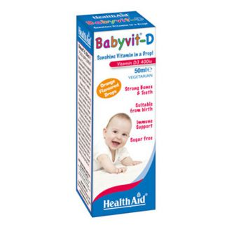 Babyvit D Health Aid - 50 ml.