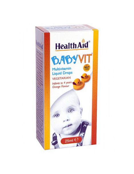 Babyvit Liquid Drops Health Aid - 25 ml.