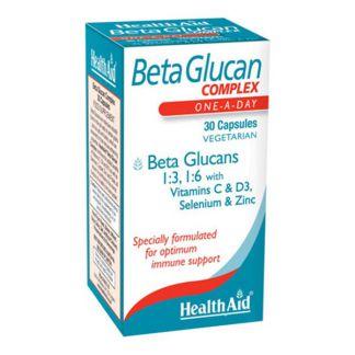 Beta Glucan Complex Health Aid - 30 cápsulas