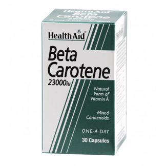 Betacaroteno 23000 UI Health Aid - 30 cápsulas