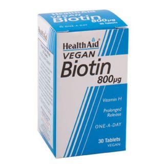 Biotina Health Aid - 30 comprimidos