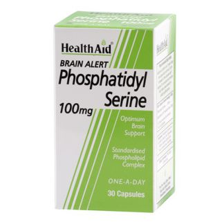 Brain Alert Fosfatidilserina Health Aid - 30 cápsulas
