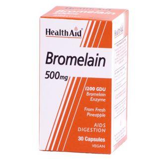 Bromelina Health Aid - 30 cápsulas