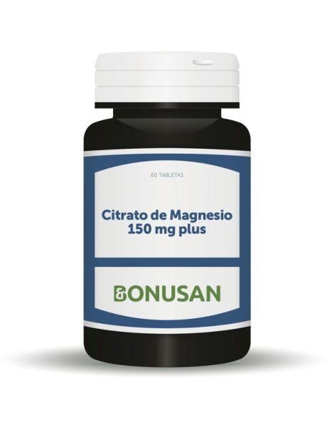 Citrato de Magnesio 150 mg Bonusan - 60 tabletas