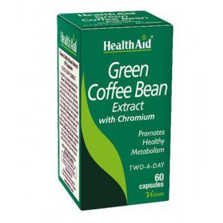 Café Verde con Cromo Health Aid - 60 cápsulas