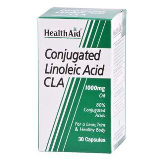 CLA Ácido Linoleico Conjugado Health Aid - 30 cápsulas