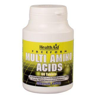 Complejo de Aminoácidos Health Aid - 60 comprimidos