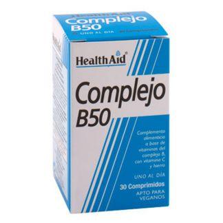 Complejo B50 Health Aid - 30 comprimidos