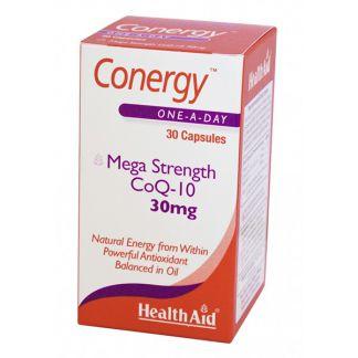 Conergy (Q10 + Vitamina E) Health Aid - 30 cápsulas