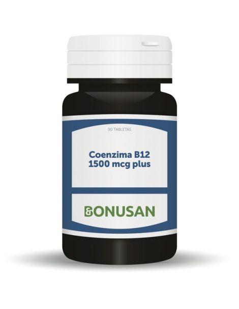 Coenzima B12 1500 mcg Plus Bonusan - 90 tabletas