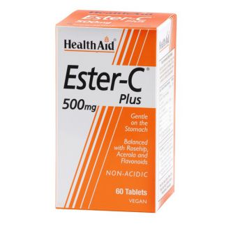 Ester C Plus 500 mg Health Aid - 60 comprimidos