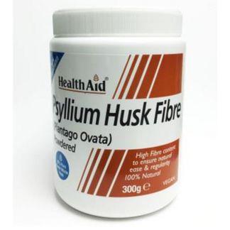 Fibra de Cáscara de Psyllium Health Aid - 300 gramos