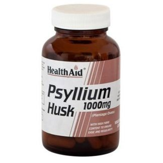 Fibra de Cáscara de Psyllium Health Aid - 60 comprimidos