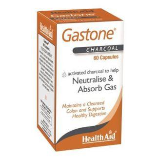 Gastone (Carbón Puro) Health Aid - 60 cápsulas