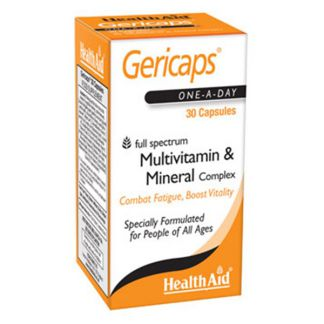 Gericaps Multinutriente Health Aid - 60 cápsulas