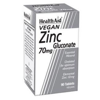 Gluconato de Zinc Health Aid - 90 comprimidos