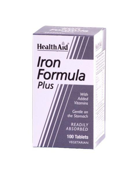 Hierro Complex Health Aid - 100 comprimidos