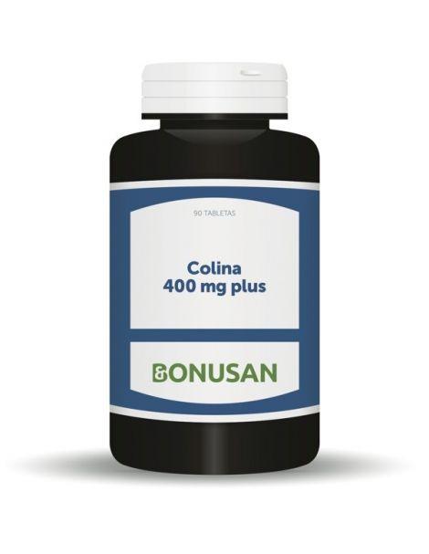 Colina 400 mg. Plus Bonusan - 90 tabletas