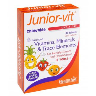 Junior Vit Health Aid - 30 comprimidos