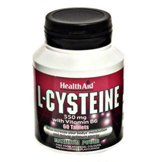 L-Cisteína Health Aid - 60 comprimidos