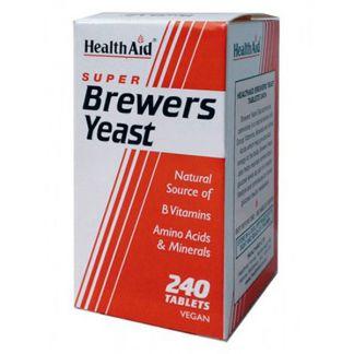 Levadura de Cerveza Health Aid - 240 comprimidos