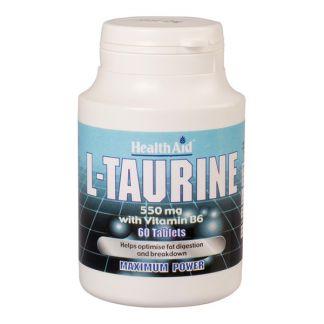 L-Taurina Health Aid - 60 comprimidos