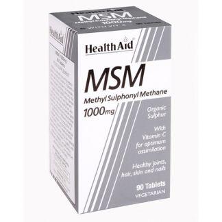 MSM Metilsulfonilmetano Health Aid - 90 comprimidos