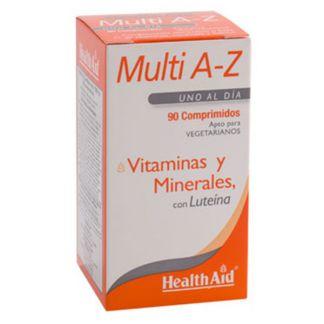 Multivit y Minerales A to Z Health Aid - 90 comprimidos