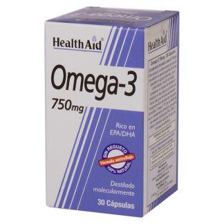 Omega 3 Health Aid - 30 cápsulas