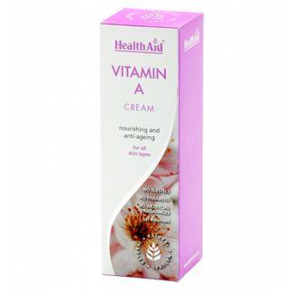 Vitamina A Crema Health Aid - 75 ml.