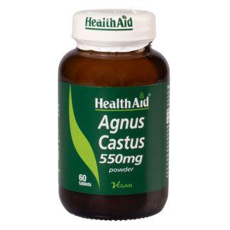 Sauzgatillo (Agnus Castus) Health Aid - 60 comprimidos