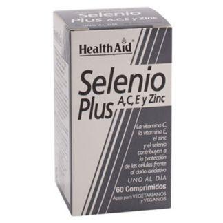 Selenium Plus A, C, E y Zinc Health Aid - 60 comprimidos