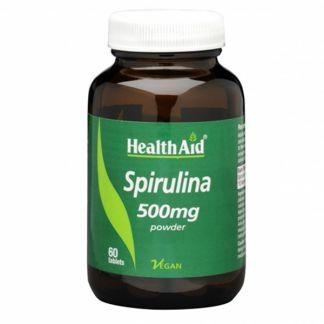 Spirulina Health Aid - 60 comprimidos