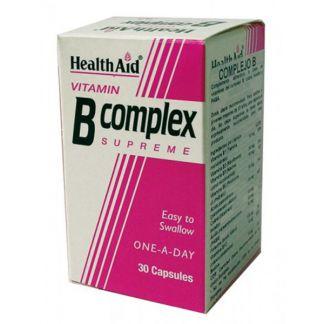 Vitamina B Complex Health Aid - 30 cápsulas