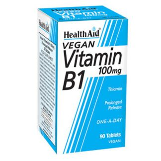 Vitamina B1 Tiamina Health Aid - 90 comprimidos