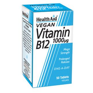 Vitamina B12 Health Aid - 50 comprimidos