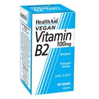 Vitamina B2 Riboflavina Health Aid - 60 comprimidos