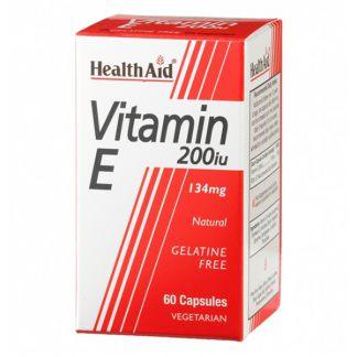 Vitamina E 200 UI Health Aid - 60 cápsulas