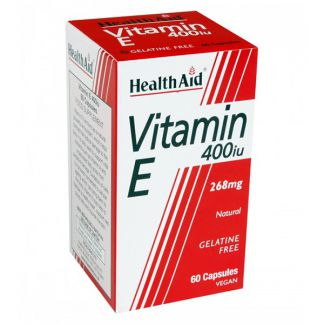 Vitamina E 400 UI Health Aid - 60 cápsulas