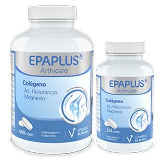 Colágeno y Ácido Hialurónico con Magnesio Epaplus - 224 comprimidos