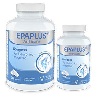 Colágeno y Ácido Hialurónico con Magnesio Epaplus - 448 comprimidos