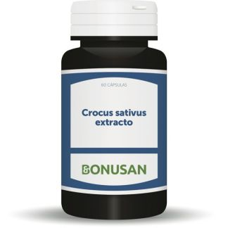 Crocus Sativus Extract (Azafrán) Bonusan - 60 cápsulas