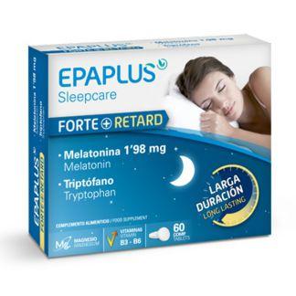 Epaplus Sleepcare con Melatonina y Triptófano - 60 comprimidos