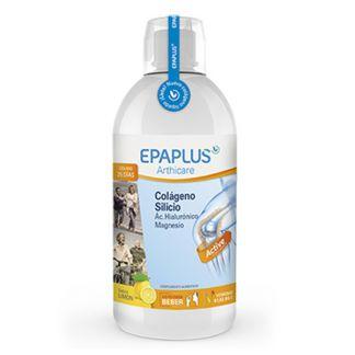 Colágeno, Silicio, Ácido Hialurónico y Magnesio Sabor Limón Bebible Epaplus - 1 litro