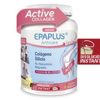 Colágeno, Silicio, Ácido Hialurónico y Magnesio Huesos Sabor Vainilla Epaplus - 334 gramos