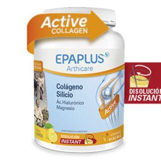 Colágeno, Silicio, Ácido Hialurónico y Magnesio Sabor Limón Epaplus - 334 gramos